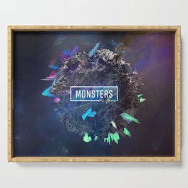 Monsters in Love Serving Tray