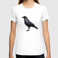band T-shirts featuring Raven Band by Vin Zzep