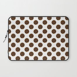 Chocolate Concha Pan Dulce (Mexican Sweet Bread) Laptop Sleeve