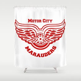 Motor City Snitch Shower Curtain