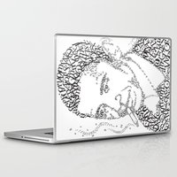 obama Laptop & iPad Skins featuring obama times by Vin Zzep