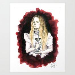Love Makes Monster of Us All Art Print