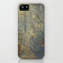 Evening (after Millet) iPhone Case