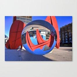Through The Orb Canvas Print