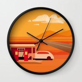 Tonapah Gas Station Wall Clock