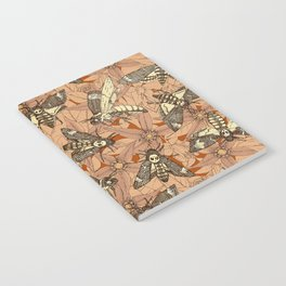Death's-head hawkmoth rust Notebook