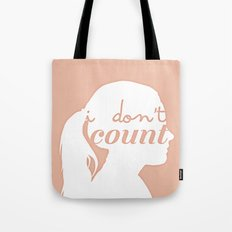 I don't count Tote Bag