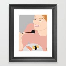 Sushi!!!!! Framed Art Print