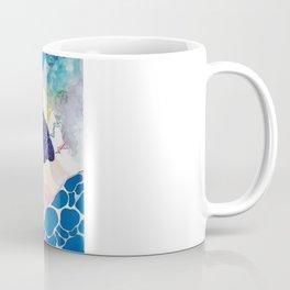 Aquatic Space & Whales Coffee Mug