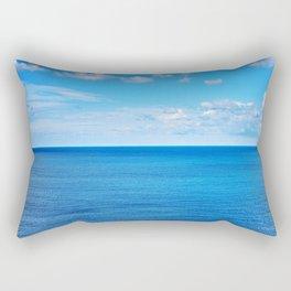 Peaceful Ocean I Rectangular Pillow