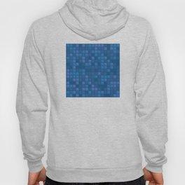 november blue geometric pattern Hoody