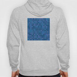 november blue geometric pattern Hoody