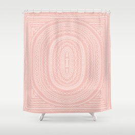 Star Gazer in Blush Shower Curtain
