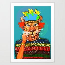 Navajo Dreams Art Print