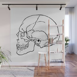 Skull 1 Wall Mural