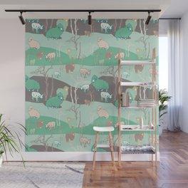 Wool Wall Mural
