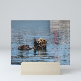 Sea Otter I - Kachemak Bay, Alaska Mini Art Print