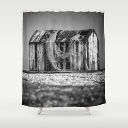 Fishermans Hut Shower Curtain