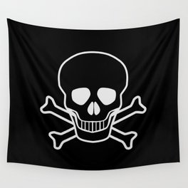 Jolly Rodger Wall Tapestry