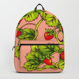 Strawberry Heart Backpack