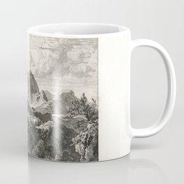 Landscapes of Ludwig Richter (1875) - Rocca di Mezzo Coffee Mug