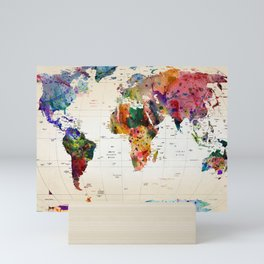 map Mini Art Print
