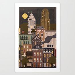 Cincinnati Amour Art Print