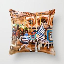 MOA Carousel Throw Pillow