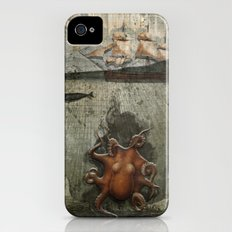 paper III :: octopus/ship Slim Case iPhone (4, 4s)