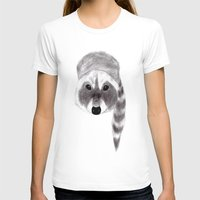 racoon T-shirts featuring Racoon by MichaelJenningsDoodleBoy
