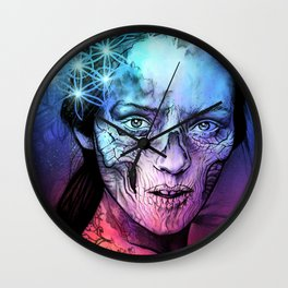 Death's Bride Wall Clock