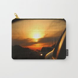 Leaving Sunset Behind Carry-All Pouch