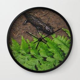 Salamander Wall Clock