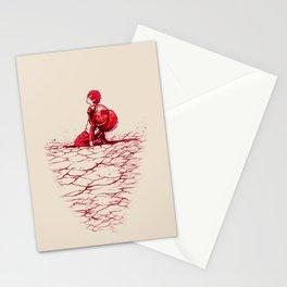 Sad Boy Stationery Cards