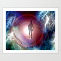 journey Art Prints featuring Journey  by Phil Flaig