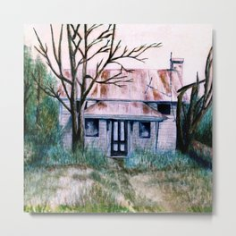 Great Granddaddy's House by Kathy Morton Stanion Metal Print