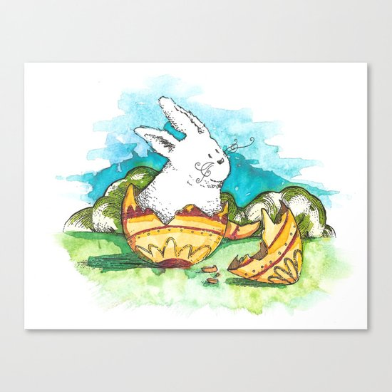 Born at Easter Canvas Print