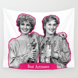 Jessica Lange and Meryl Streep Wall Tapestry