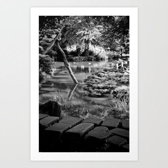 The Garden II Art Print