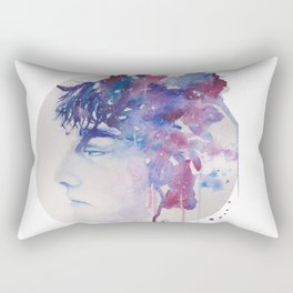 Eleven Shooting Stars Later Rectangular Pillow