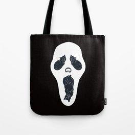 Screaming Cats Tote Bag