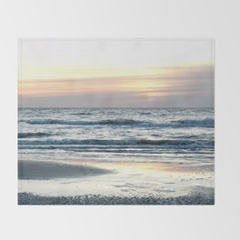 Hilton Head Sunrise Throw Blanket