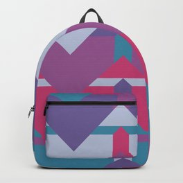 Cool Waves #society6 #violet #pattern Backpack