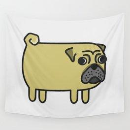 1# I like big pugs Wall Tapestry