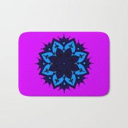 Kids Mandala Purple Bath Mat