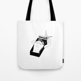We Gonna Let It Burn Tote Bag