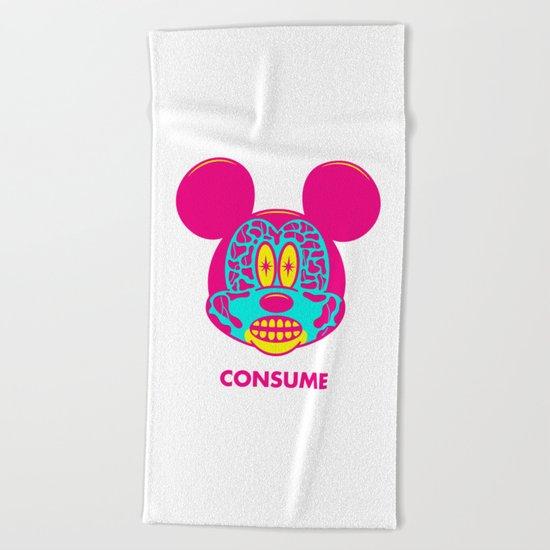 CONSUME Beach Towel