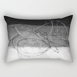 War is... Hell | Military | Soldier | Army | Nadia Bonello Rectangular Pillow