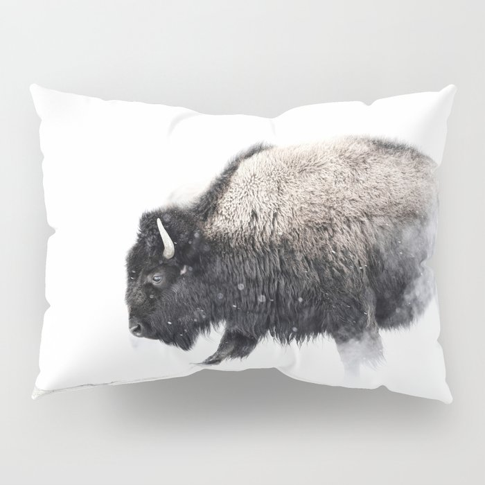 Prancing Buffalo Pillow Sham