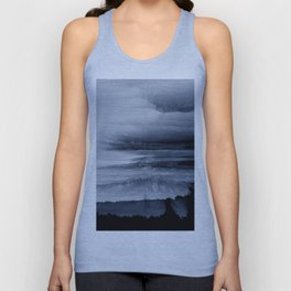 Abstract black painting 2 Unisex Tank Top